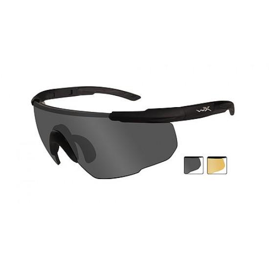 športové/ taktické/ dioptické okuliare s vymeniteľnými zorníkmi WILEY X SABER ADVANCED - Smoke Grey + Light Rust