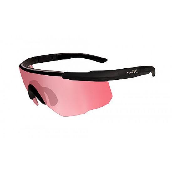 športové/ taktické/ dioptrické okuliare s vymeniteľnými zorníkmi WILEY X SABER ADVANCED - Vermillion