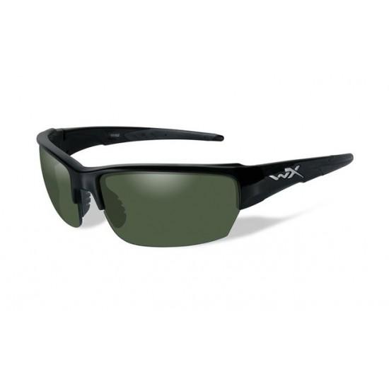slnečné/ taktické okuliare s vymeniteľnými zorníkmi WILEY X SAINT Polarized - Smoke Green