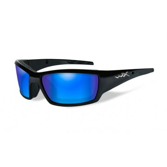strelecké okuliare WILEY X TIDE Polarized - Blue Mirror