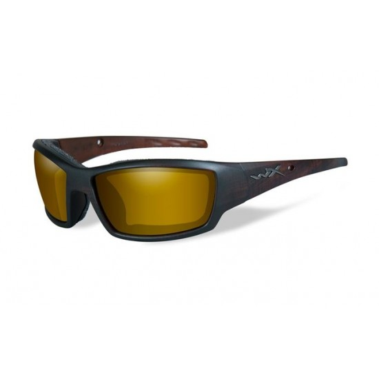 strelecké okuliare WILEY X TIDE Polarized - Gold Mirror