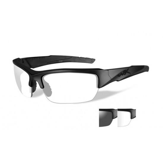 slnečné/ taktické okuliare s vymeniteľnými zorníkmi WILEY X VALOR Smoke Grey + Clear