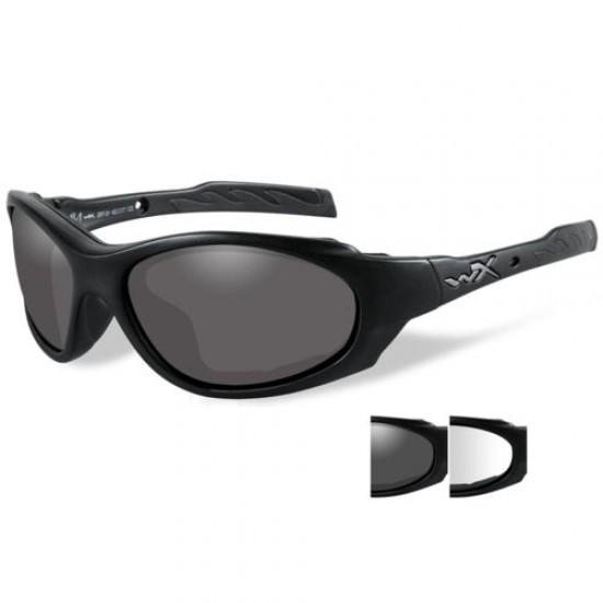 taktické/ strelecké okuliare s vymeniteľnými zorníkmi WILEY X XL-1 ADVANCED - Grey + Clear