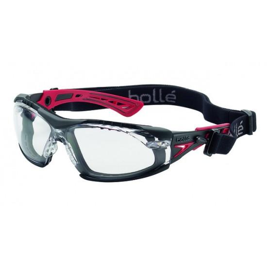 Rush/Rush+ kit športové okuliare , pena a šport páska okolo hlavy