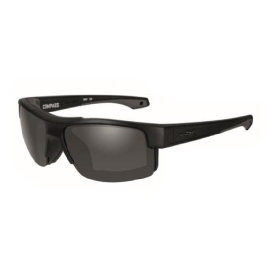 slnečné okuliare WILEY X COMPASS Smoke grey lens/ Matte black frame